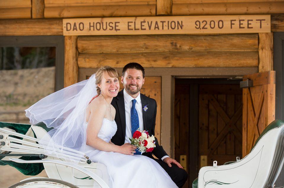 Estes Park Mountain Wedding