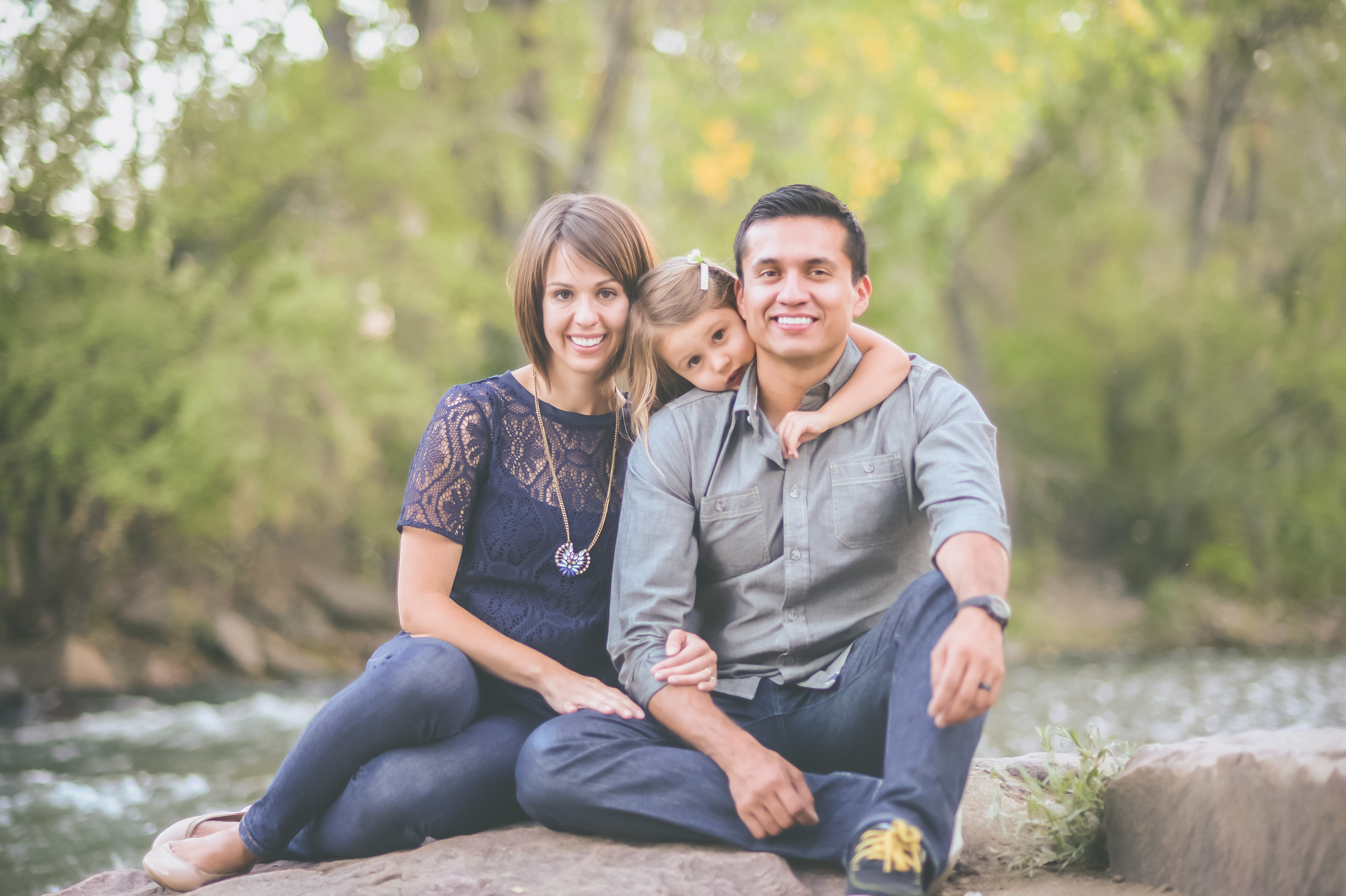 H Family Clear Creek, Sweetie Photo Lifestyle Portrait