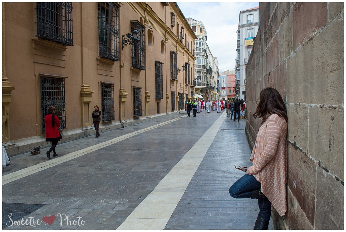 Travel Photography: Processional, Malaga, Spain