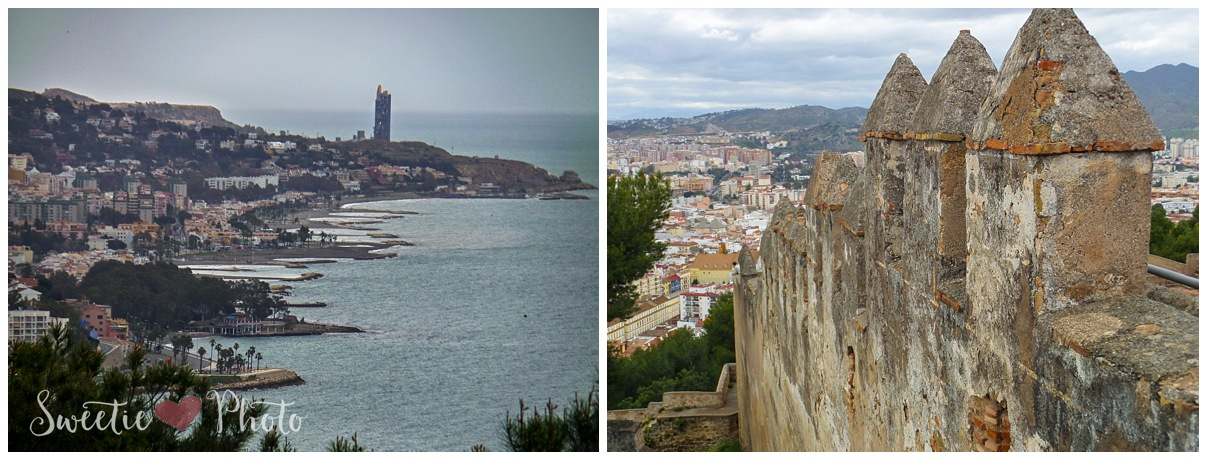 Travel Photography: Castle of Gibralfaro, Malaga, Spain