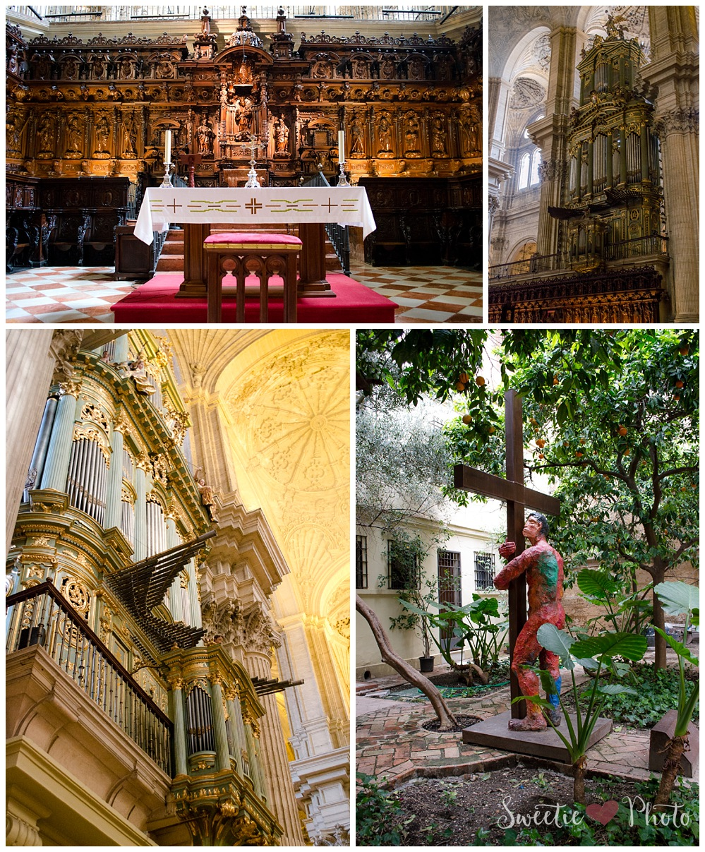 Travel Photography: Cathedral, Malaga, Spain