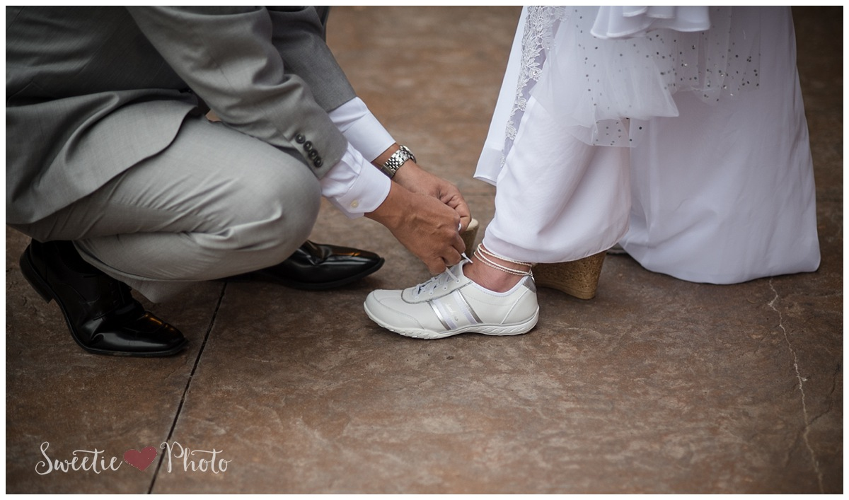 Intimate Breckenridge Wedding|Cinderella's Tennis Shoes | Sweetie Photo, Colorado Based Wedding Photography
