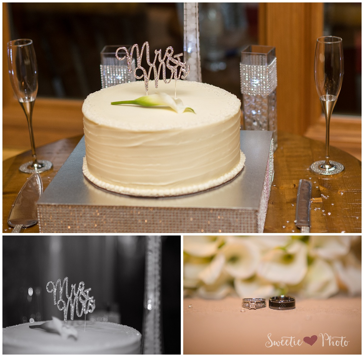 Intimate Breckenridge Wedding| Reception Details | Sweetie Photo, Colorado Based Wedding Photography