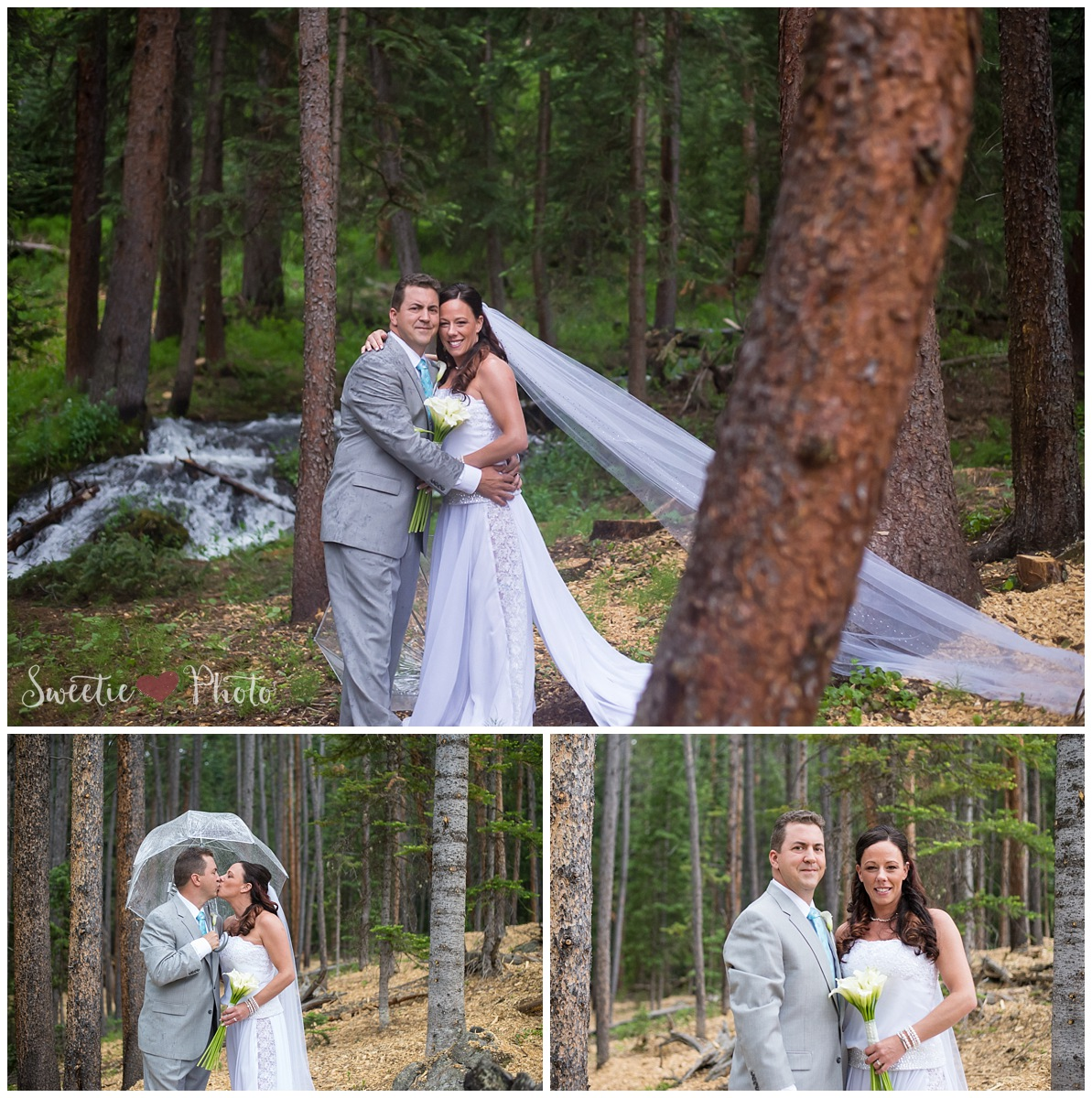 Intimate Breckenridge Wedding| Bridal Portraits | Sweetie Photo, Colorado Based Wedding Photography