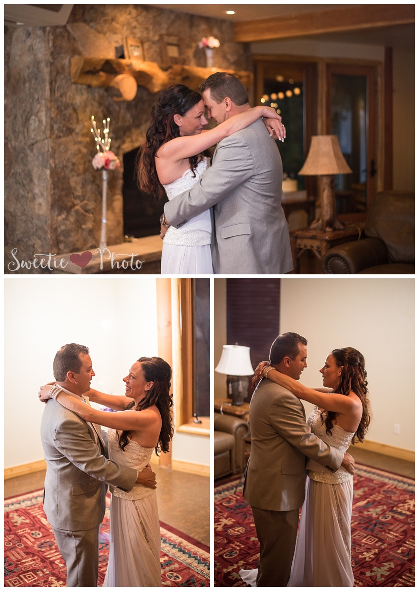 Intimate Breckenridge Wedding| First Dance| Sweetie Photo, Colorado Based Wedding Photography