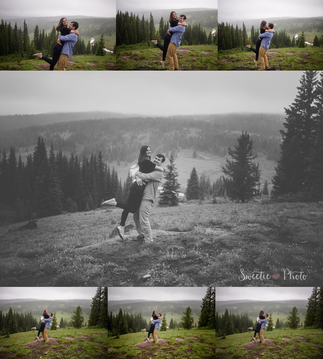 Mountain Engagement, Vail, CO | Sweetie Photo |Colorado Wedding Photography