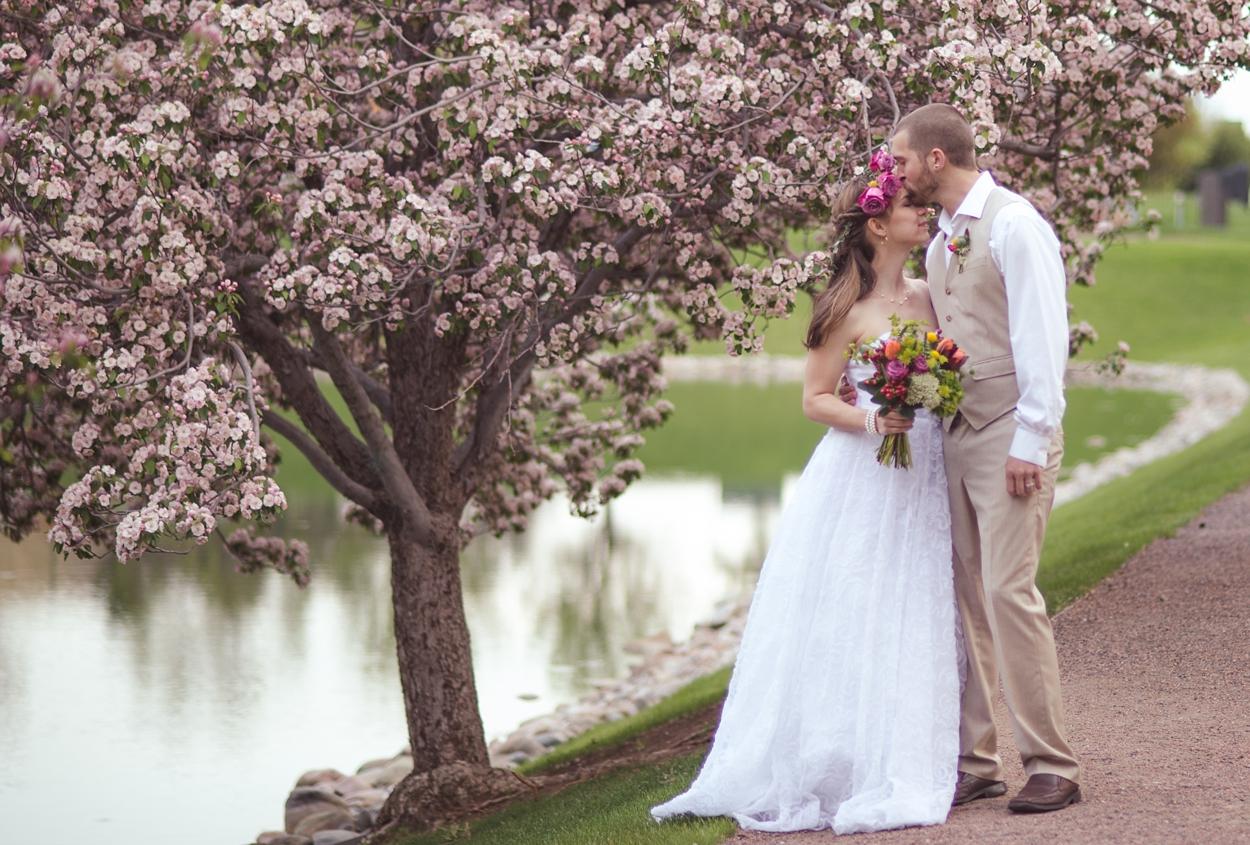 Spring Blossom Wedding | Colorado Wedding Photography | Colorado Wedding Photography | Sweetie Photo, Lifestyle Photography Colorado and Beyond!
